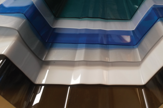 (PC) Corrugated Roof Sheet - Different colours