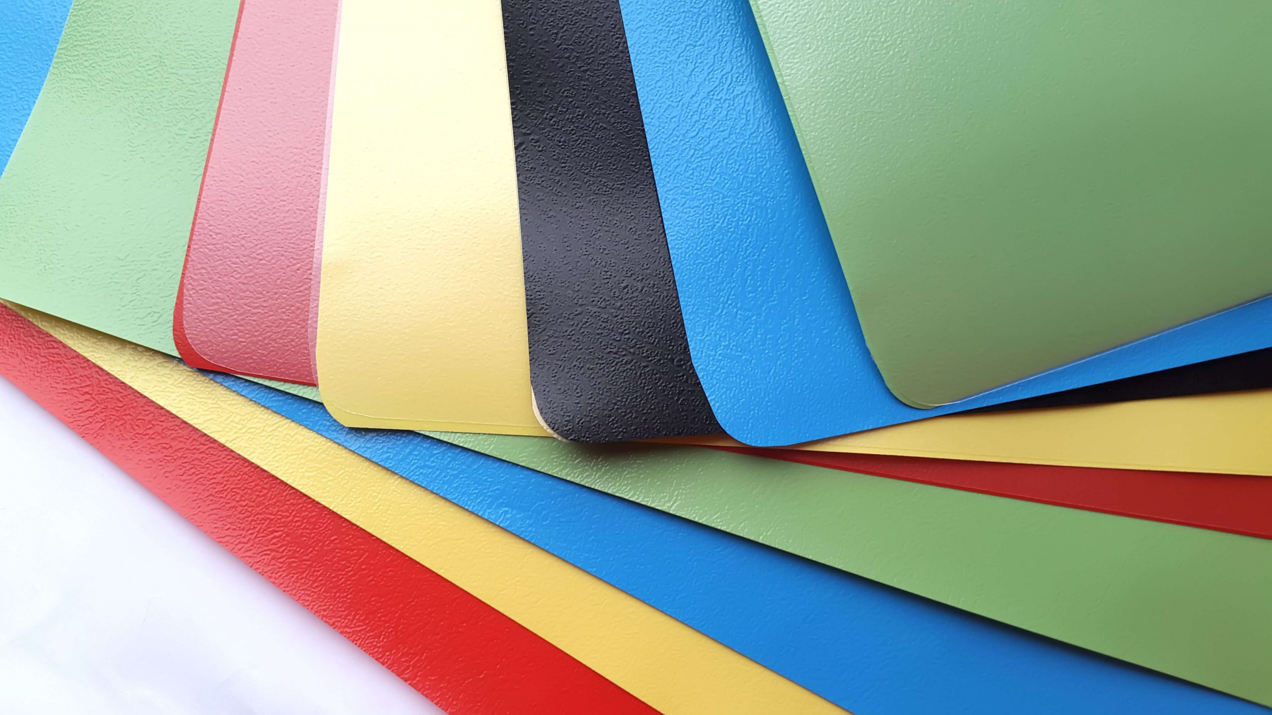 ABS Plastic - Different textures, deep grain, smooth and embossed finishes